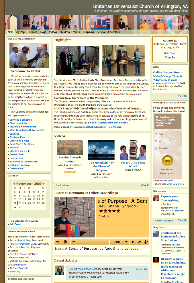 uucava.org screenshot