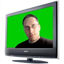 Green Screen on TV