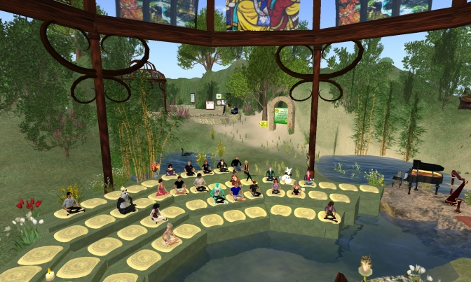 Second Life UU Worship Serice