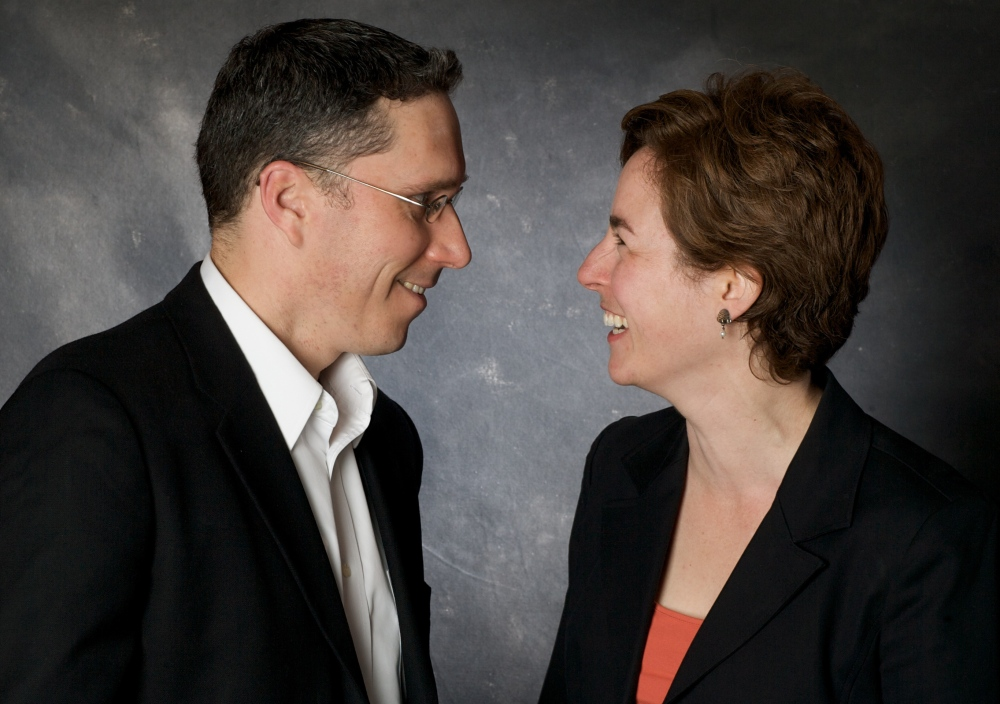 Peter Bowden and Amy Freedman